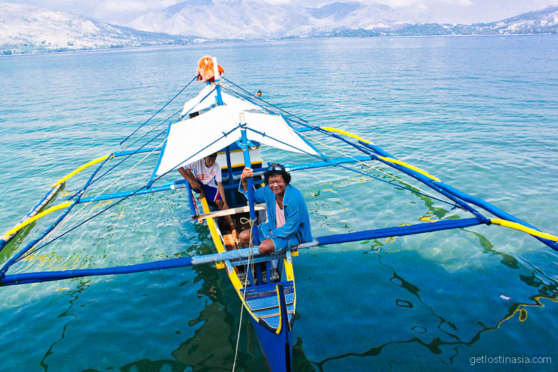 our local boat tour Phillipines subic bay